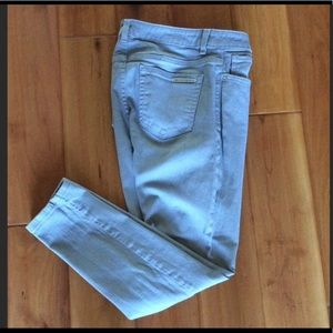 Michael Kors Gray skinny jeans size 6 x 26